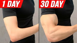 Get Bigger Arms In 30 DAYS ! ( Home Workout )