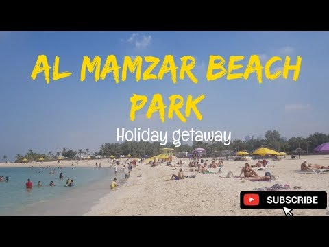 AL MAMZAR BEACH PARK // OFW HOLIDAY // CLAUDINE G.