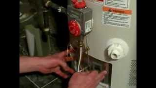 No Hot Water - Replace The Thermocouple - Heater With Sealed Combustion Chamber