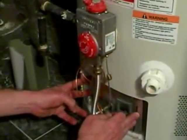 No Hot Water Replace The Thermocouple Heater With Sealed Combustion Chamber Youtube