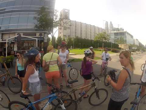 Contiki South America 2013: Biking in Buenos Aires