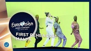 Malta 🇲🇹 - Michela - Chameleon - First Rehearsal - Eurovision 2019