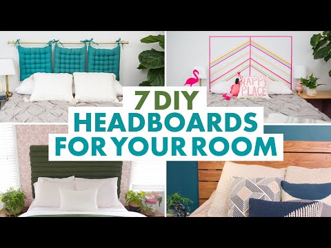 Headboard DIYs to Make Your Bedroom #Goals - HGTV Handmade