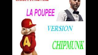 christophe mae  la poupée version chipmunk