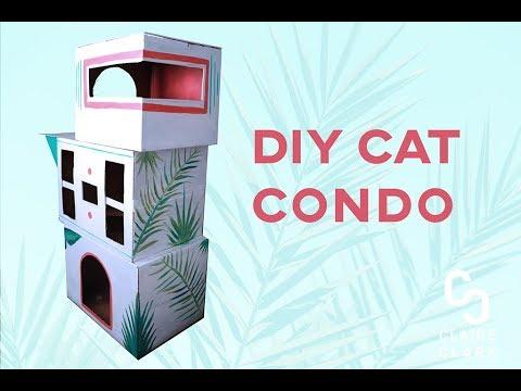 DIY Cat Condo