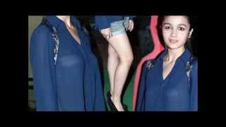 Alia Bhatt Unseen revealing sexy video