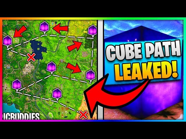 The Fortnite Cube Path And All Rune Locations Got Leaked Fortnite