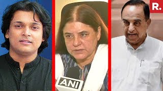 Dr. Subramanian Swamy, Maneka Gandhi And Rahul Easwar React To Sabrimala Verdict | #RightToPray
