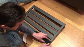 How to set up a Pedaltrain Novo 24 pedalboard