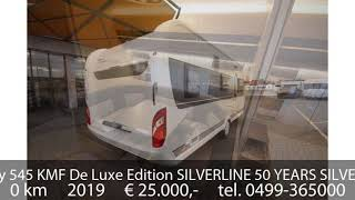Hobby 545 KMF De Luxe Edition SILVERLINE 50 YEARS SILVERLINE