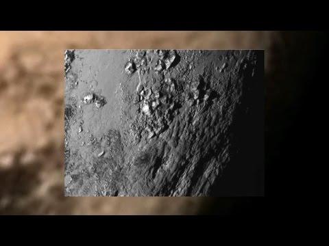 Mountains on Pluto: Surface photo reveals surprises