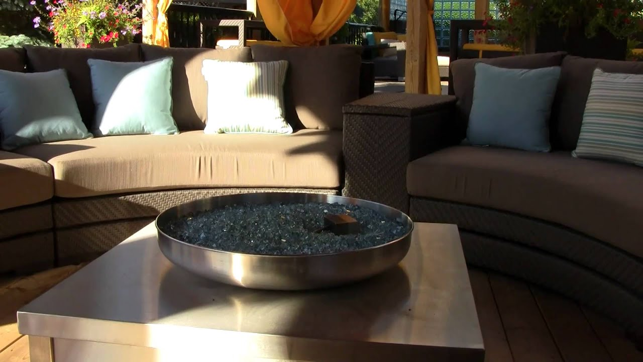 Fire Pit Backyard Toronto : Backyard Fire Pit  Patio Landscape Designs  Rainbow Landscaping