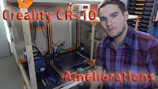 CREALITY CR-10 : AMELIORATIONS DE BASE (SILENCE, ISOLATION PLATEAU, ACCROCHE...)
