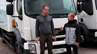 Отзыв Дмитрия о Нова-Трак. Покупка грузовика рефрижератора Volvo FL
