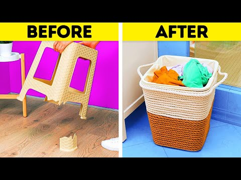 28 Useful Home Repair Tips || Plastic Recycling Ideas by 5-Minute DECOR!