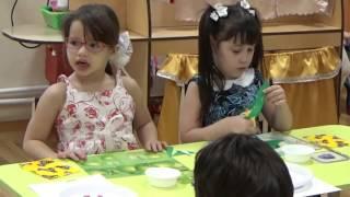 видео Планета Детства - Аппликации из бумаги