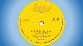 Walter Brown - Darling I love you
