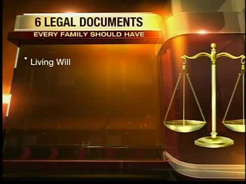 6 legal documents everyone news