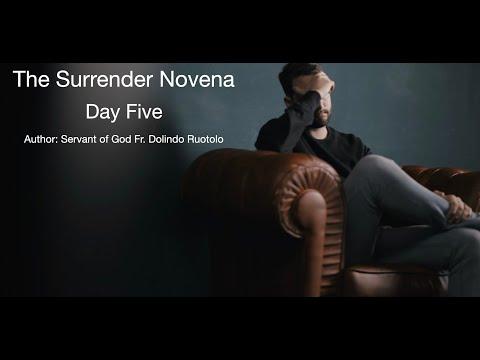Day 5 Surrender Novena