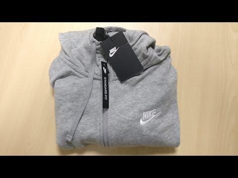 Nike Grey Hoodie Unboxing