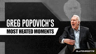 Gregg Popovich Most Heated Moments