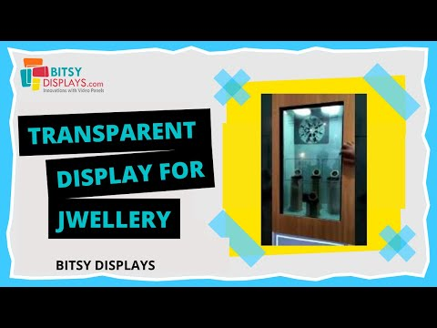 Interactive Transparent Display