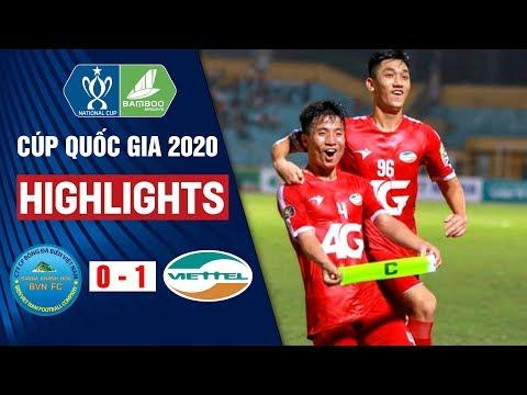 Sana Khánh Hòa Vs Viettel: 0-1 | Highlights Cúp Quốc Gia 2020 | On Sports
