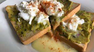 Egg avocado sandwich || how to make egg avocado toast