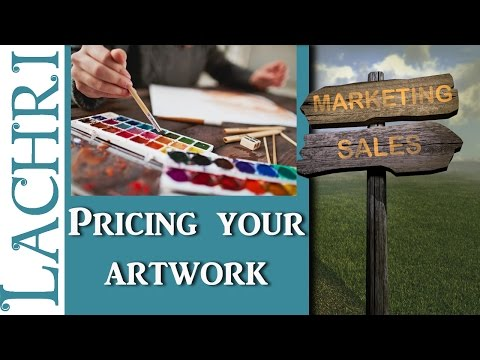 Things to think about when pricing artwork - Art Business w/ Lachri