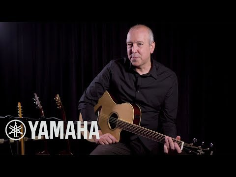 Yamaha APX600 Guitar Overview