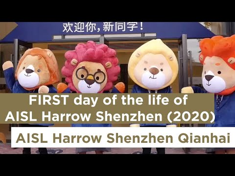 Harrow International School Shenzhen Qianhai First Day at School