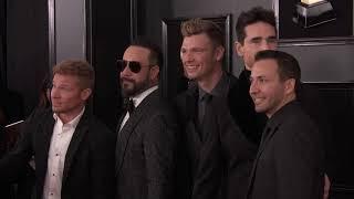 Backstreet Boys On The Red Carpet   2019 GRAMMYs