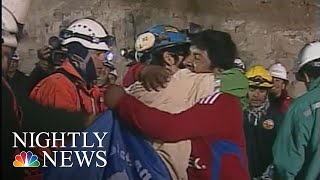 Flashback: How The Chilean Miners Rescue Happened | NBC Nightly News