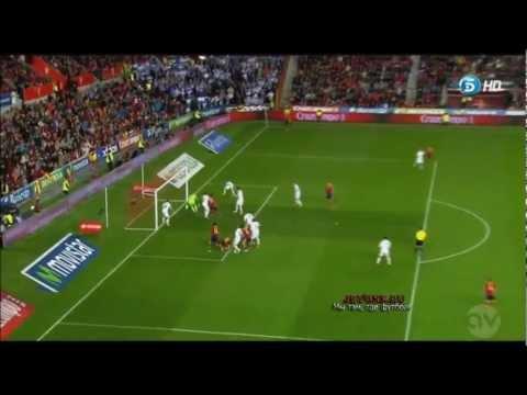 Испания - Финляндия 1-1 (22/03/2013) - Обзор Матча
