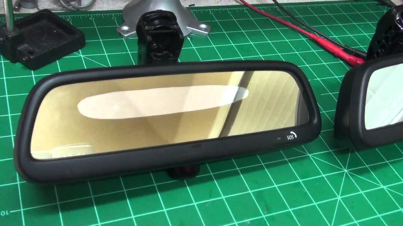 medium resolution of auto dimming mirror repair