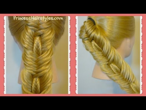 double-fishtail-stitched-braid-hairstyle