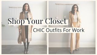 How to Style OLD Clothes to Make NEW Outfits   Shop Your Closet: Chic Outfit Ideas