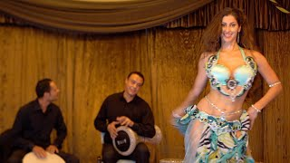 Bellydance CRAZY Drum Solo | Sadie & Hany LIVE from Cairo