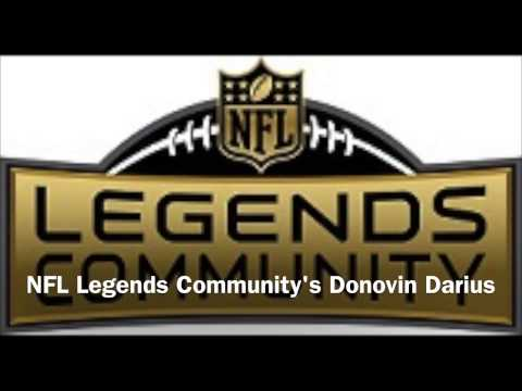 About the NFL Legends Community with Donovin Darius