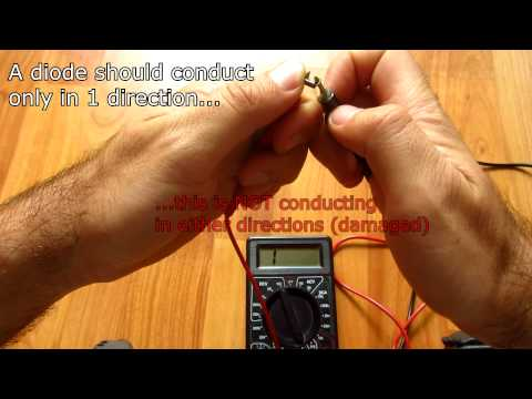Good vs. Damaged DIODE