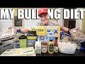 MY BULKING DIET: Meal By Meal | Gaining Muscle Without Fat & Prepping - Remington James