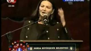 Qənirə Paşayeva - Bursada çıxış