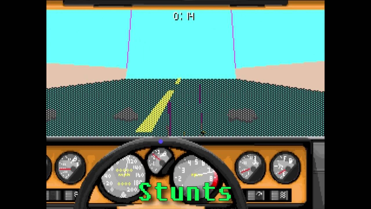 Lgr Car And Driver Dos Pc Game Review Youtube