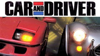 LGR - Car and Driver - DOS PC Game Review