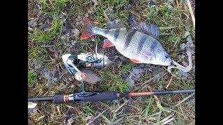 Рыбалка ультралайтом. Ловля на дроп шот. Первое апреля 2018