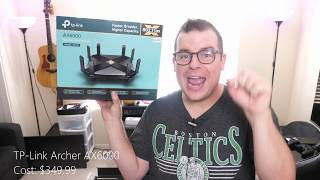 best Fastest Wi-Fi 6 Router TP-Link Archer AX6000