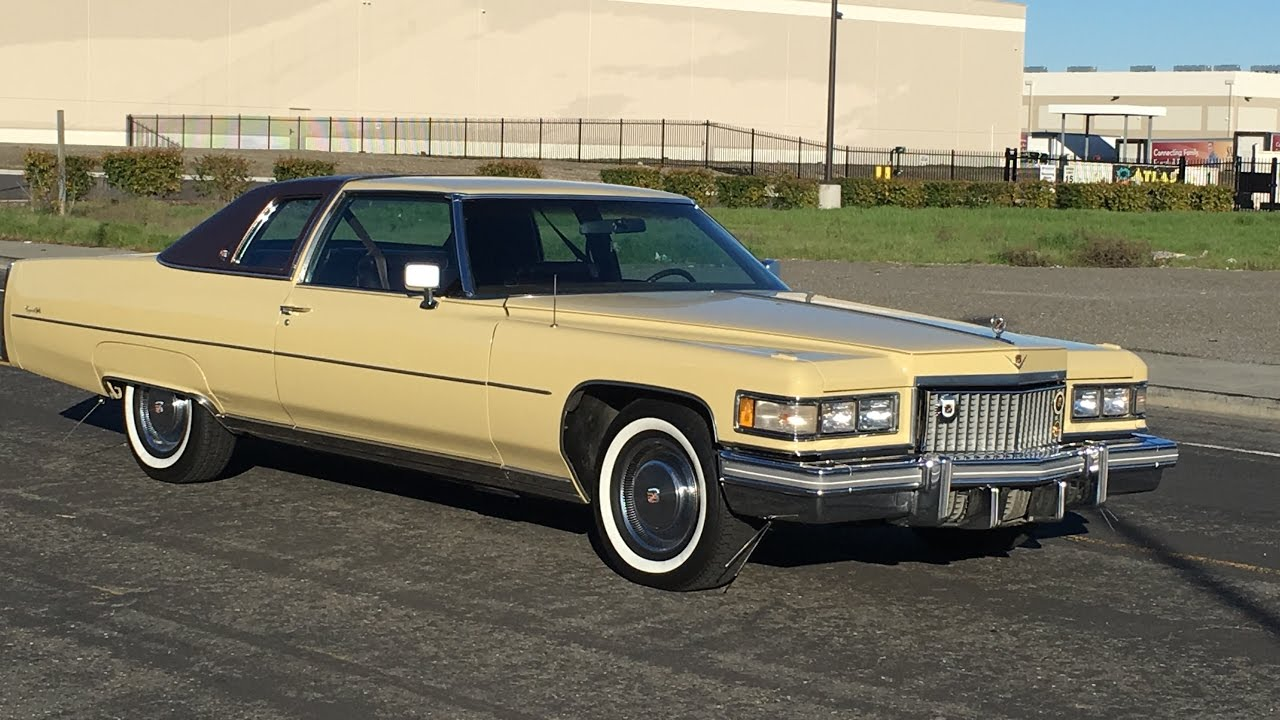 1975 Cadillac Coupe Deville Bombay Yellow Youtube