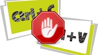 как поставить запрет на копирование материала из вашего блога