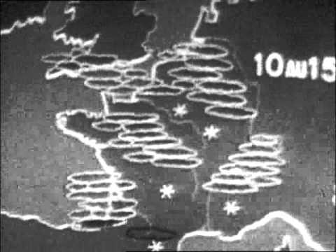 RTF metéo télé en 1956