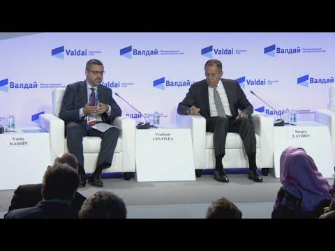 Выступление В.Р. Легойды на сессии Международного  дискуссионного клуба «Валдай».